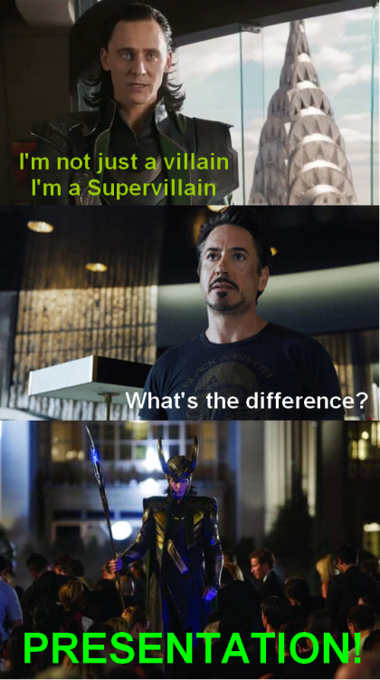 Supervillain (by nanao-nekoi, via Hiddlememes)