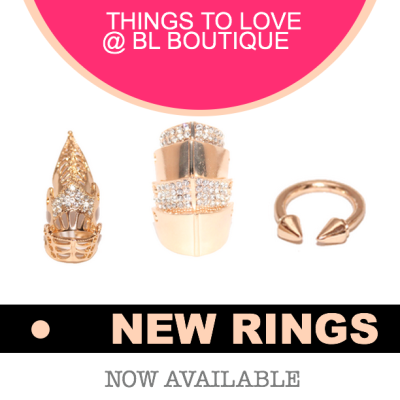 New Rings at Brosia Love Boutique by Ambrosia MalbroughView Post