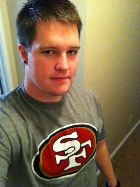game day! \o/ go niners