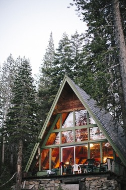myidealhome:  in the woods (via Pinterest)  I would like to live here, please.