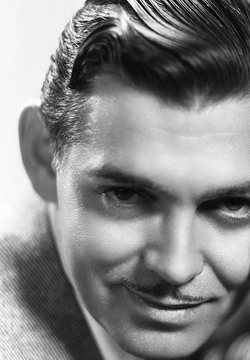 Clark Gable photographed for It Happened One Night, 1934