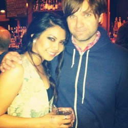 #tbt to that one time Ben Gibbard bought me a drink after the Death Cab show. JK we just happened to be at the same bar…. #agirlcandream 😍