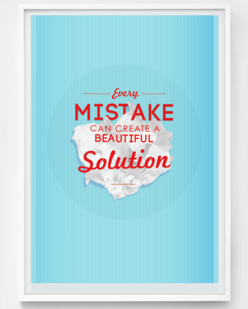 betype:  Every Mistake Can Create A Beautiful   Get inspired on on Betype.co