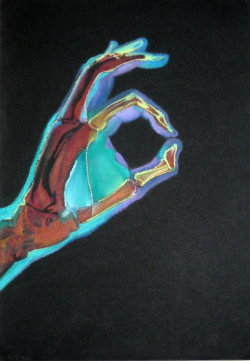 danelleisnice:  COLOURED x-ray handdd by ~reecekikluvloot