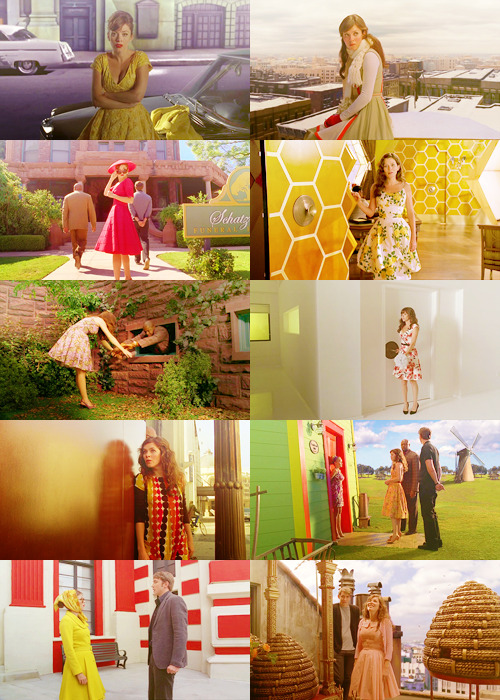 screencap meme: pushing daisies: chuck + her beautiful dresses {requested by littlebailey}