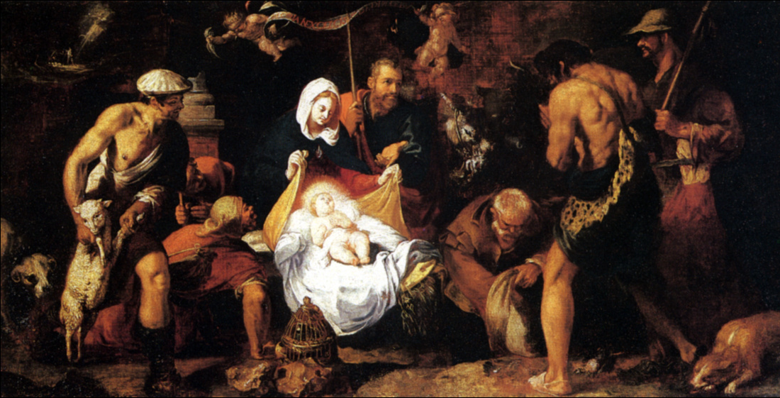 Juan Ribalta The Adoration of the Shepherds (1616)