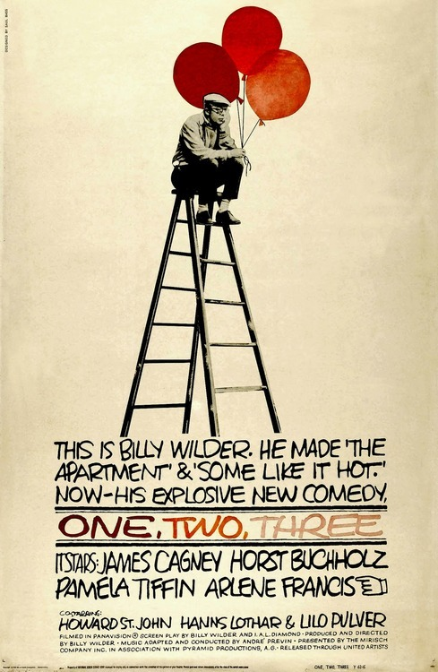 One, Two, Three Saul Bass 1961
