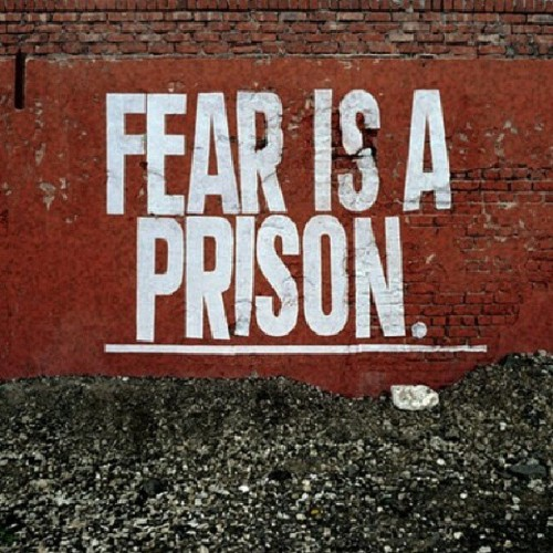 Imprison your fears #streetart #mind #fearless