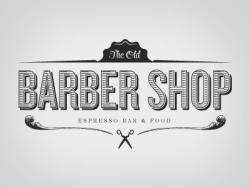 (via Dribbble - Original Old Barber Shop by Chris Castro)