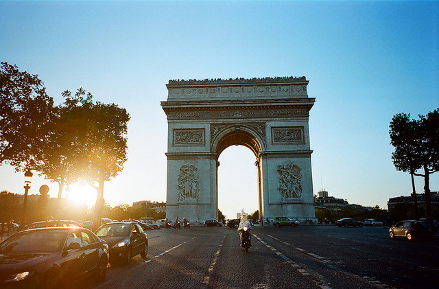 The Arch, Paris by Iring Chao on Flickr.