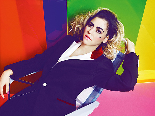 Marina & the Diamonds by Markus Jans
