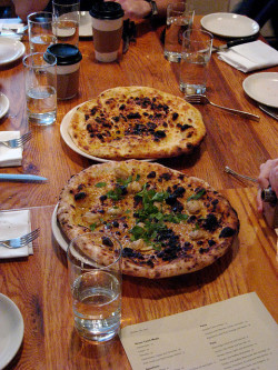 Clam Pie and Olive Oil & Sea Salt Pie by Adam Kuban on Flickr.