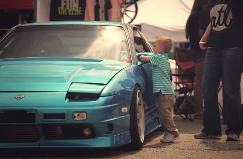 volatilestyle:  My son checking out one of his favorite cars #southrnfresh #stayvolatile #teamrowdy