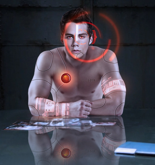 Teen Wolf AU: Android!Stiles↳ Inspired by these three fics.