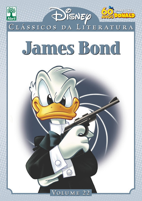 Carlos Mota's cover for the James Bond installment of the Disney Classics of Literature collection. I get the feeling this comic adaptation will not be entirely faithful to Ian Fleming's original novels…