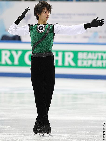 Ryuju Hino's Robin Hood costume at the 2012 Junior Grand Prix Final.