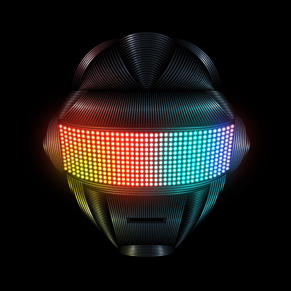gregmelander:  DAFT PUNK ILLUSTRATION  An awesome Daft Punk illustration by Patrick Seymour on Behance via agiantgirl  Sorry for the Daft Punk spam. I just really like their music.