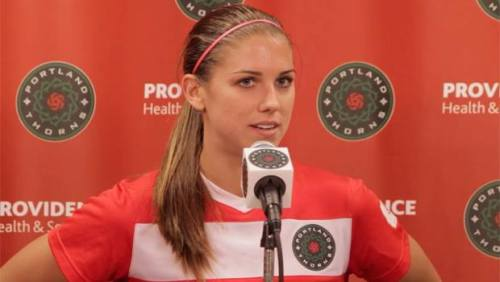 "matydiko:  Marian Dougherty, Alex Morgan and Christine Sinclair talk postgame about the win. Alex… ""I think my start to the season was a little slow, but obviously I'm my own worst critic…"" Great mentality! http://www.portlandtimbers.com/news/2013/05/thorns-quotes-notes-portland-vs-washington-spirit-may-19-2013"