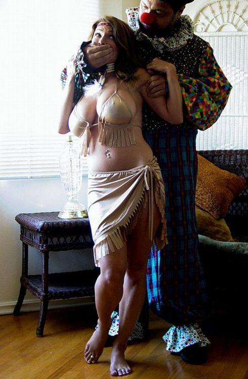 sensualhumiliation:Captured at the circus…