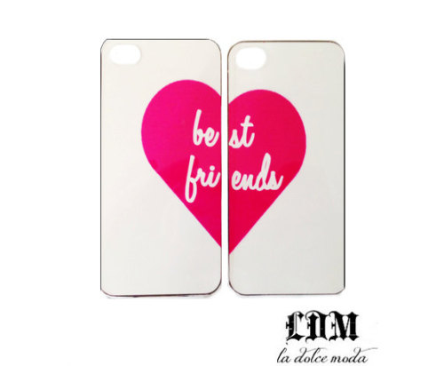 ITEM OF THE DAY: ITEM OF THE DAY: BEST FRIEND IPHONE CASESby Michelle Escobar http://bit.ly/VXWukn
