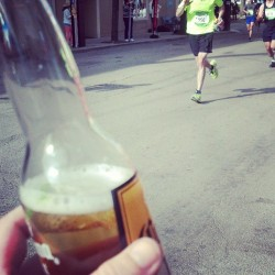 beer and marathon