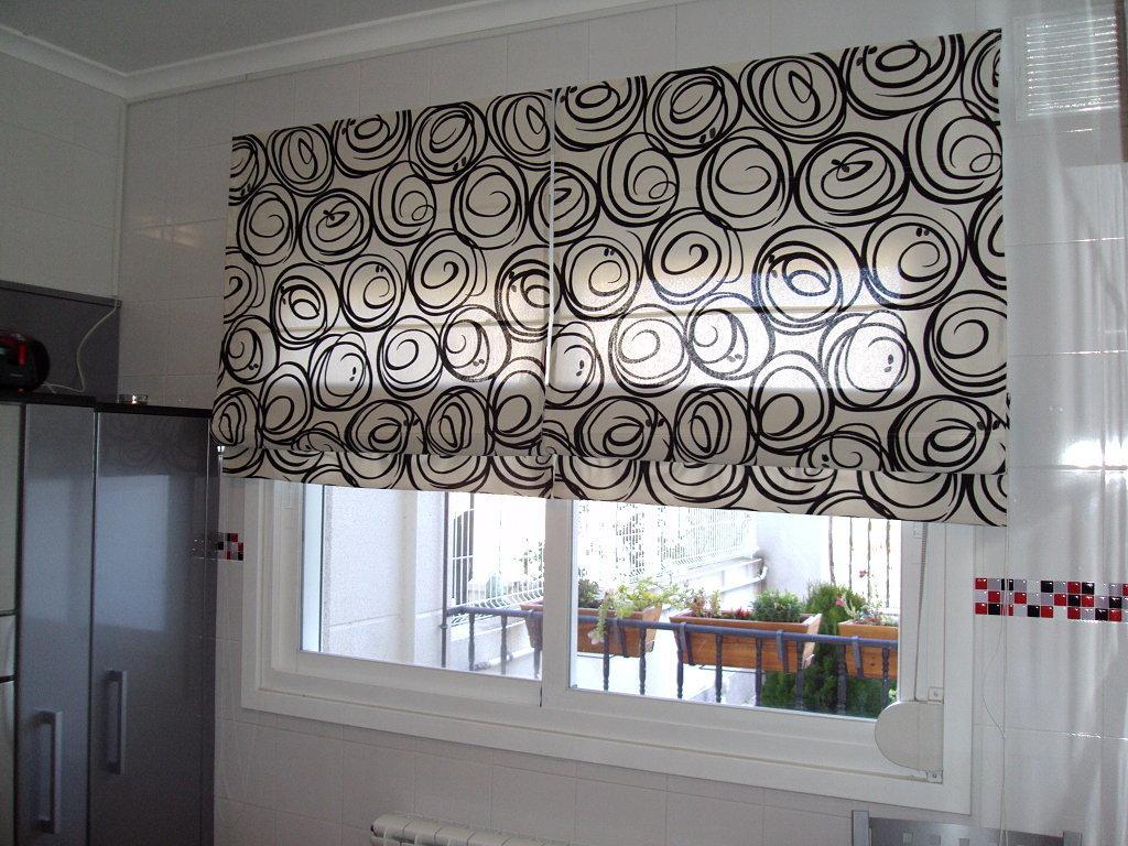 Equipamiento hogar for Disenos de cortinas para cocinas modernas
