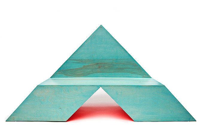 Triangle Bench // RDC /// Johnson Trading Gallery