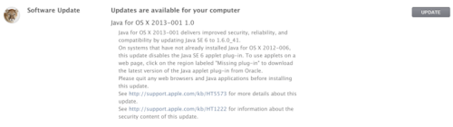Apple Releases Java Security Update Following Earlier Corporate Hack