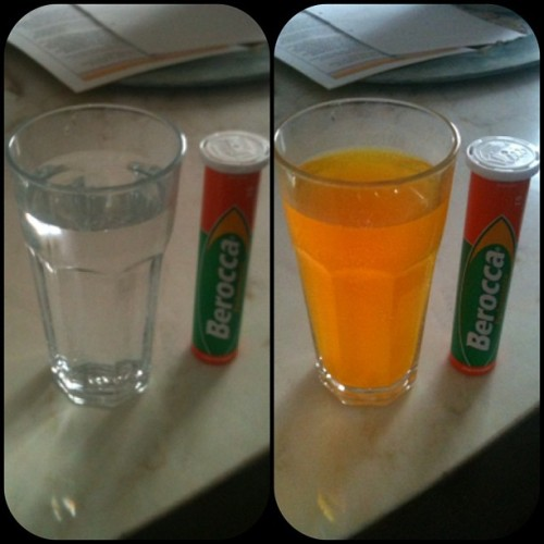 via @frametastic about to give myself some fuckin' vitacock. #berocca #orange #vitamins #vitacock #cock #healthyfoodcauseyolo  #tryingtobehealthy #expensivepee #expensiveurine #onthepiss  (at Amcal Pharmacy)