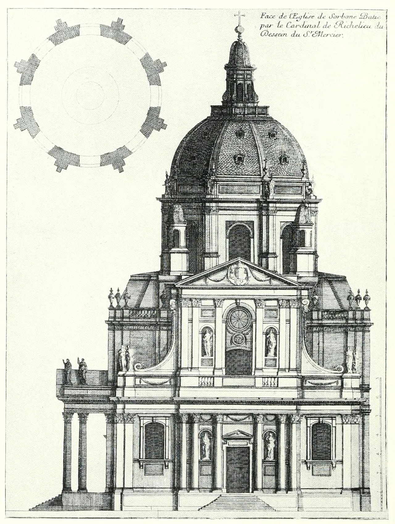 Le Mercier's Church of the Sorbonne, Paris