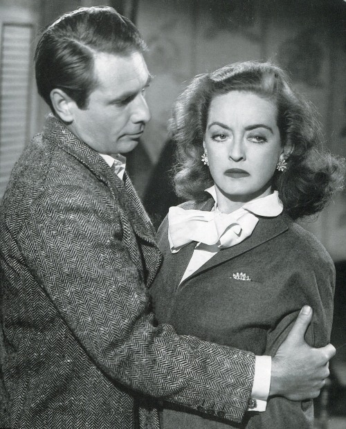 aladyloves:  Bette Davis and Gary Merrill in All About Eve (1950)
