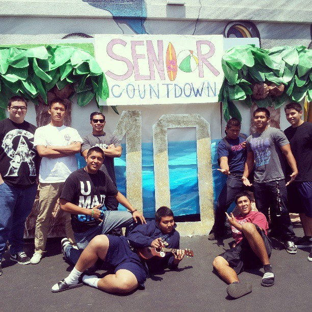 Senior countdown with the bros #senior #Classof2013 #10