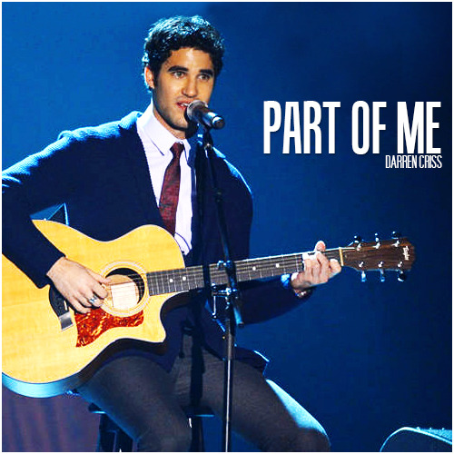 Darren Criss | Part of Me 'Trevor Live' Alternative Cover