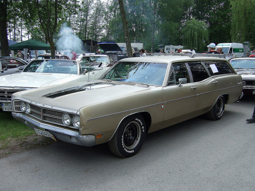 1970 Ford Galaxie Country Sedan by Opron on Flickr.