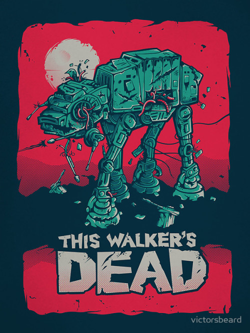 Walker's Dead by Victor Vercesi Artist facebook / tumblr / Redbubble