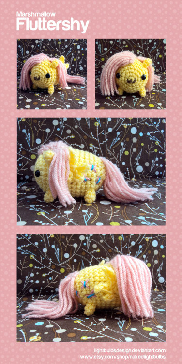 Updated Fluttershy photo shoot! :3 Marshmallow Fluttershy by LightbulbsDesign
