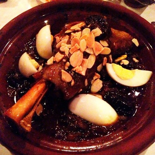 "The best lamb tagine I've ever had. This place should be on everybody's ""must try"" list.  (at Shokran Morrocan Grill)"
