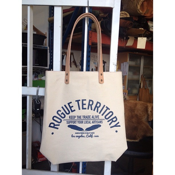 Totes are ready for @northerngrade -$50 #madeinusa #keepthetradealive #rogueterritory #madeinusa #selvedge