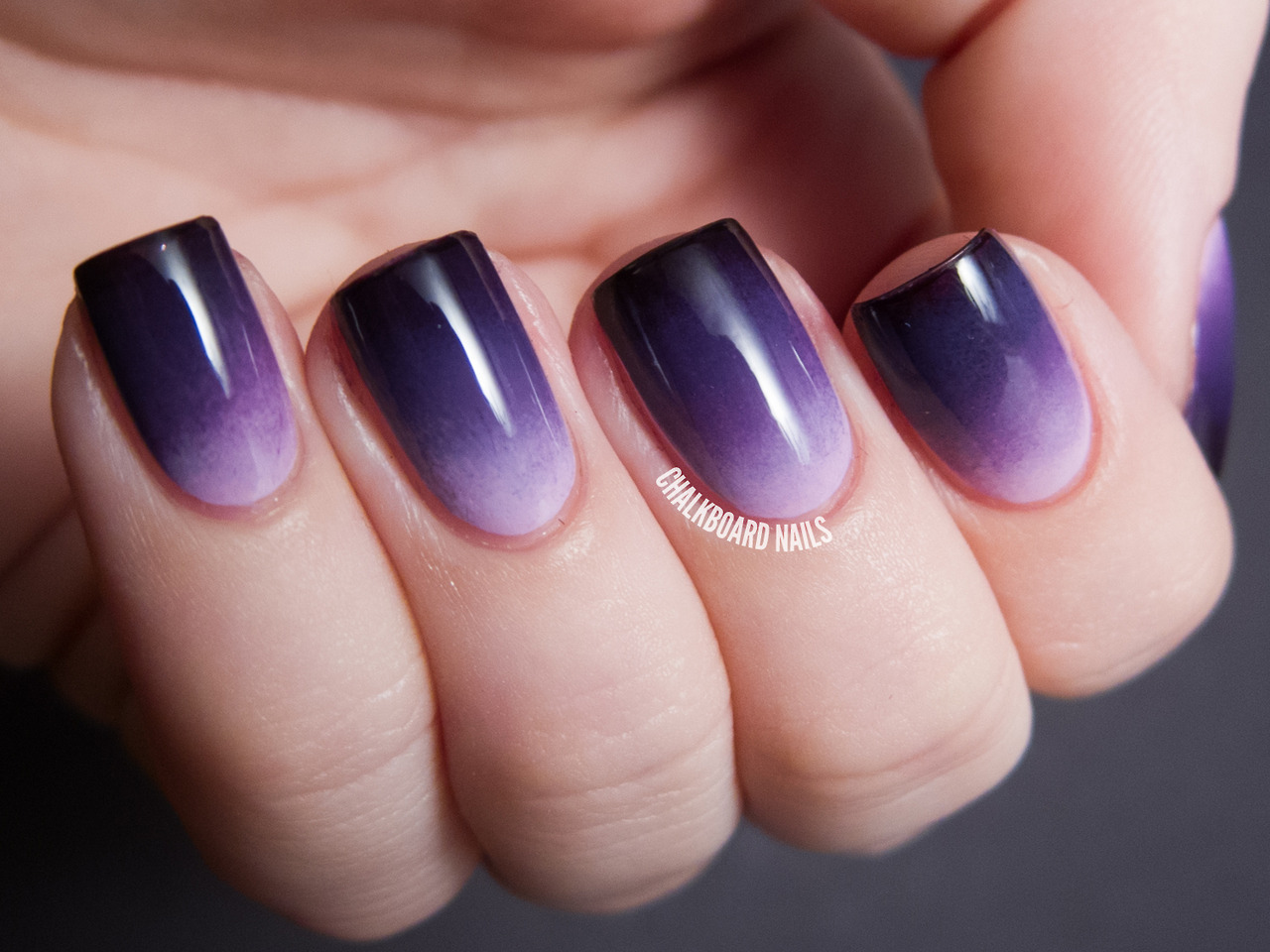 China Glaze Grape Expectations Ombre Set China Glaze Sweet HookChina Glaze SpontaneousChina Glaze Grape PopChina Glaze Crimson