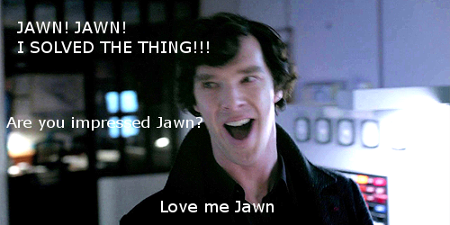 lordofthejohnlock:  Jawn… Jawwwn… do you love me yet? Jawnnnnn?