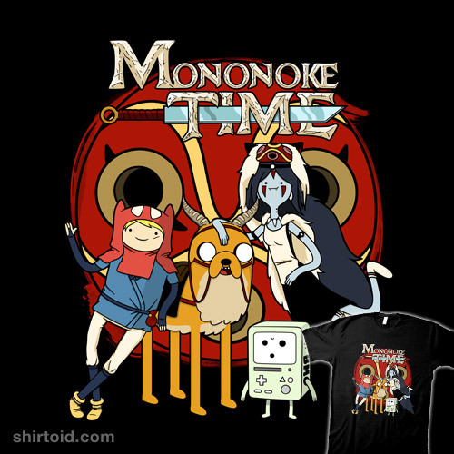 shirtoid:  Mononoke Time by RebelArt is available at Redbubble