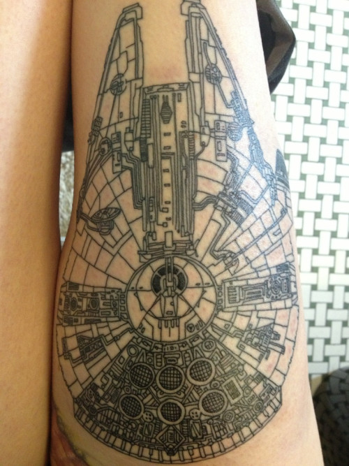smellimeli:  scificity:  http://scificity.tumblr.com New tattoo  Holy moly