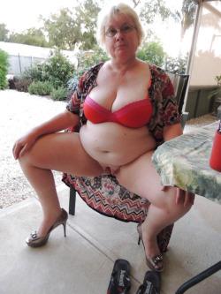 Legs granny spread Category:Nude women