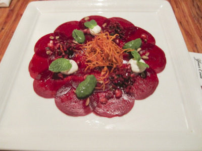 Day 350 - Beet Carpaccio