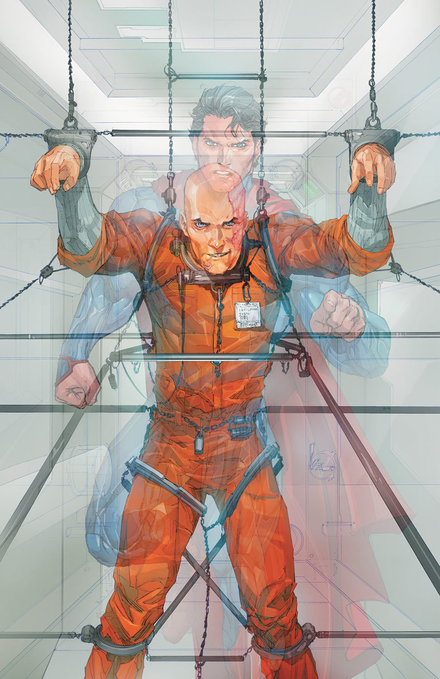 ladman:  Superman and Lex Luthor by Rocafort