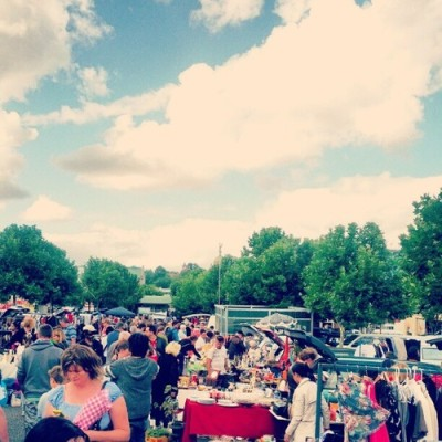 Flea market! (at Camberwell Sunday Market)