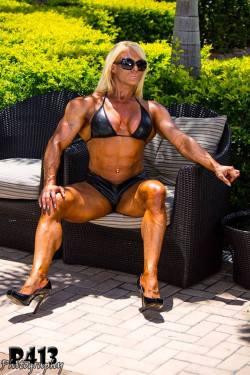 Talklive now to powerful and dominant women!800.222.3539 (FLEX)International call:+1-214-446-1459http://bit.ly/10U4NH#female bodybuilding#bodybuilding #fitness#female wrestlers#bikiniLisa Cross