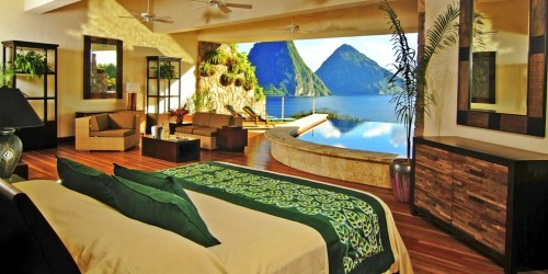 shemery:  Jade Mountain in St. Lucia