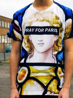 Stained Glass Tee: http://prayforparis.com/