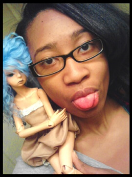 My bjd and meee~ BJD! BJD! Why Shiny Teeth and Me popped into my head randomly I'll never know.